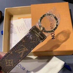 Luxus Keychain hohe Qualtiy Schlüsselanhänger Schlüsselanhänger Halter Marke Designers Schlüsselanhänger Porte Clef Geschenk Männer Frauen Car Bag Schlüsselanhänger A626