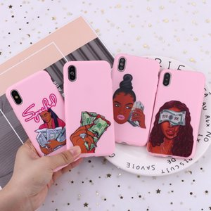 Creative Dollar Woman Suitable For Apple 11Pro Xs Mobile Phone Case IPhone7 6splus Protective Cover All-Inclusive XR