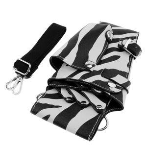 Titolare PU parrucchiere Scissor Vita Custodia Barber Stylist Belt Holster
