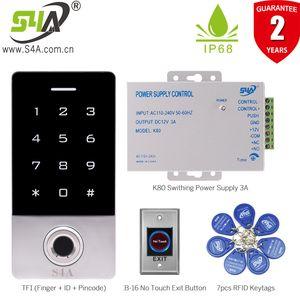 Fingerabdruck-Leser für Outdoor Access Control Keypad Waterproof-System Fingerabdruck RFID Türschloss Access Control System Kits