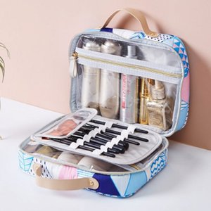 Bag New Portable Cosmetic Case Bag 2020 Cosmetic Toiletry Toiletry Makeup Storage Fevsd