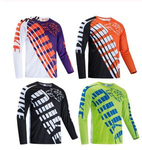 Camiseta de 2020 nueva camiseta de TLD DEMO ropa de la motocicleta que monta en bicicleta de montaña MTB camiseta de la ropa fuera de la carretera de manga corta