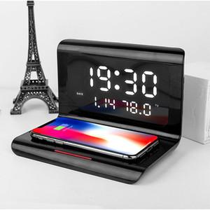 Clock Kalender drahtlose Ladegerät 3 in 1 2020 neuen drahtlosen schnellen Aufladung für iPhone 12 11 pro max Samsung Galaxy Note 20 ultra