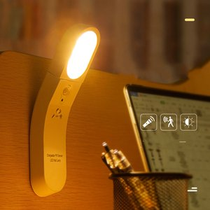 Smart home birthday gift light control desk lamp USB human induction small night lamp creative gift bedside lamp