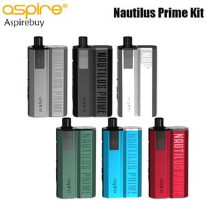 Aspire Nautilus Prime Pod Kit with 60W 2000mah Battery 3.4ml Capacity 0.69 OLED Screen Nautilus BVC Coil 1.8ohm Authentic