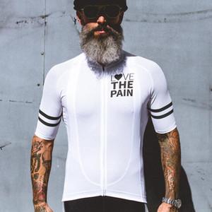2020 사랑의 고통 사이클링 저지 남자 여름 자전거 의류 빠른 드라이 경주 자전거 의류 통일 Breathale 자전거 의류