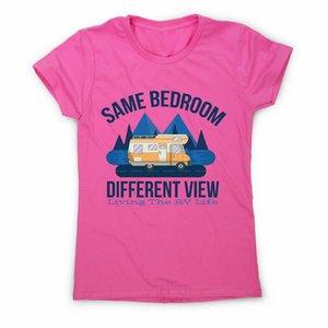 Rv Leben-Zitat - Witzige Damen-Premium-T-Shirt Top-Qualität-T-Shirt
