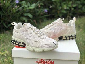 Hot New Stussy Spiridon gaiola 2 Running Shoes Mens CQ5486-200 CU1854-001 Chaussures Schuwomen Esportes sapatilhas tamanho