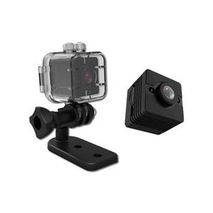 SQ12 mini cámara inalámbrica WIFI cámara IP Micro impermeable SQ12 Deporte noche del sensor de la videocámara DV de la visión del movimiento DVR