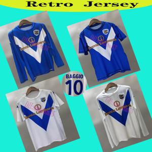 03/04 Rétro Brescia Calcio Soccer Jerseys Caracciolo Baggio Futbol Camisas Vintage Football Camiseta Chemise classique