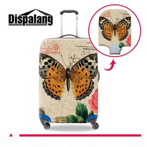 Mariposa bonita Imprimir Cubiertas Spandex Maleta protector para las mujeres de equipaje de protección para el recorrido al aire libre de señora Girls