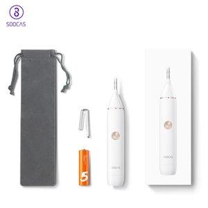 SOOCAS elektrische Nasenhaarschneider für Youpin Mini N1 beweglichen Hals-Nasen-Haar-Rasierapparat-Scherer-Wasserdichtes verträglicher Reiniger Männer