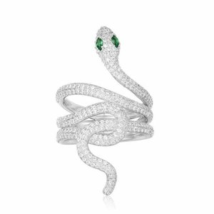 rings for women ring spirit snake media design jewelry earrings cute silver fashion jewelry 2019 new trend