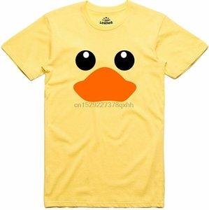 Pato de goma camiseta logotipo divertido Regular Fit 100% algodón hilado en anillos tee