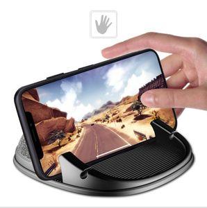 EPACK Support de téléphone, téléphone Support Voiture Dashboard antidérapants, Anti Mounts mains libres de glissement, téléphone silicone Mont Pad Mat