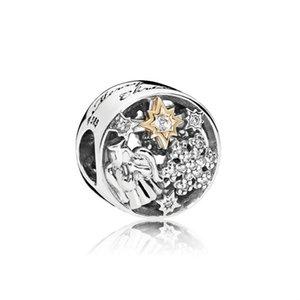 NEW 100% Argent 925 1: 1 authentique 796363CZ CELESTE MERVEILLES CHARM Bracelet original Femmes Bijoux cadeau