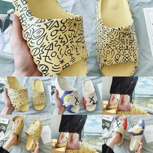 1FN19 donne strato flip flop doppio DIAnew designersandals piatto di diapositive signore di cocco sulla spiaggia scarpe trav all'aperto Sesame Streetel sandali moda