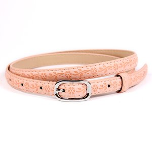 2020 New Layer Leather Korean Casual Tide Ladies Belt Pin Buckle Fashion Wild Female Models Belt for Women