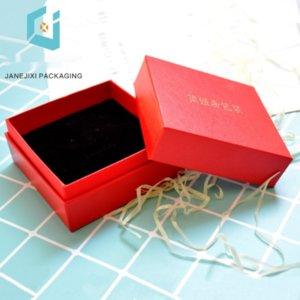 elZU3 Verpackung selbst verkaufen ein hochwertiges Leder Muster Verpackung Armband Halskette Box boxjewelry Beutel Schmuck boxgift Box