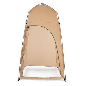 TOMSHOO portátil al aire libre Tienda de ducha de baño Cambio de Fitting Room abrigo de la tienda Campamento Playa de privacidad WC