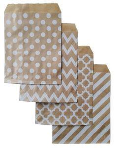 18cm 선물 가방 종이 파우치 종이 식품 가방 생일 웨딩 파티는 손님 용 포장 선물 가방을 부탁