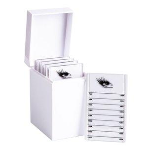 5 Layers Lashes Display Stand Organizer Box False Eyelashes Glue Pallet Eyelash Extension Makeup Tool Eyelash Storage Box Makeup