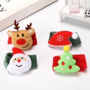 Christmas Patting Circle Bracelet WatchCartoon Clap Circle, Pop Circle, Christmas Children's Gift Bracelet New Year Toy Wrist Decoration