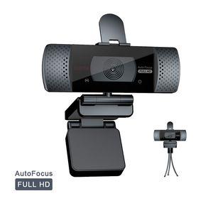1pcs Freeshipping USB Web Cam Webcam HD 1080P 300 Megapixel PC Kamera mit Absorption Mikrofon für TV Drehbare Computer-Kamera