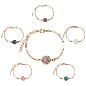 Silber-Armband-Armband-Schmucksachen heißen Verkauf Natual Stein-Stulpe-Armband-Armbänder für Frauen-Mädchen-Art und Weise Schmucksachen Wholesale freien Verschiffen ps1944