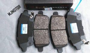 2 модели T600 Задние тормозные колодки, установленные для китайского Zotye T600 SUV 1.5T двигателя Авто автомобильных частей 3501117001B1127009 sl9J #