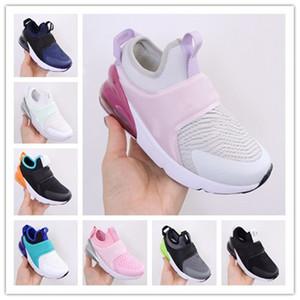 Bebek Çocuk Tasarımcı Ayakkabı Çocuk 270 Boy Kız Schuhe 270S Eğitmenler Boyutu 22-35 için Koşu Ayakkabı Bebek Sport Sneakers