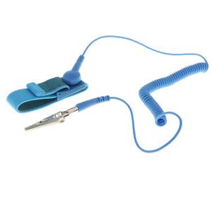 مكافحة ساكنة رباط المعصم باند مع الأرضية سلك كهرباء ESD الاسورة