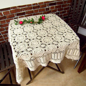 IBANO Handmade Crochet Coasters Cotton Tabela Pano Copa Mat Placemat Crocheted Toalha Vintage