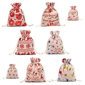 2021 Christmas gift candy bag christmas sacks Santa Claus Bag Drawstring Bag , good quality and low price