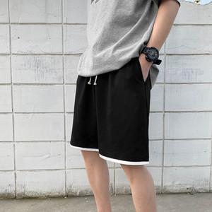 Joggers Sweatshorts Summer Men Cargo Shorts for Male Casual Pants Harajuku Board Shorts Half Sweat Pants 2020 Streetwear