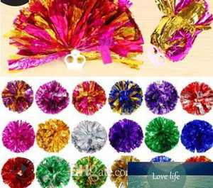100pcs pom poms Cheerleading 50g Cheering pompom Metallic Pom Pom Cheerleading products many colors for you to choose