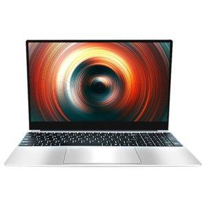 15,6 polegadas Laptop Celeron J4115 Processor 8G + Suporte 128G 2.4 / 5GWiFi Quad-Core Gaming Notebook (EU Plug)