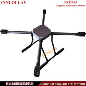 INNLOI БЛА DIY 940mm Quadcopter Drone рама из алюминиевого сплава фиксированной каркасные Аксессуары для огнетушителей Drone Long Flight Спасательного патруля Drone