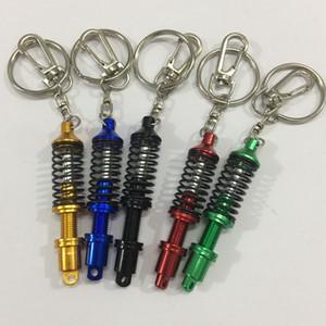 Universal Spring Car Tuning Partie Amortisseur Suspension réglable Porte Intérieur voiture porte-clés Modèle Keyholder KKA8085