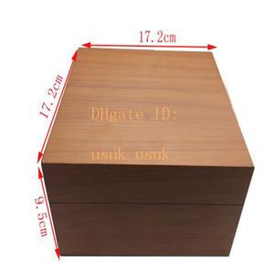الأصلي صندوق الوسم كتيب PAM بطاقة 17.2CM * 17.2CM * 9.5CM الساعات الداخلية كتيب الخارجي 1950 الساعات صناديق خشبية