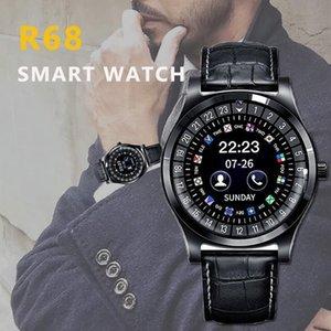 Smart Watch R68 Bluetooth Round Screen Smartwatch Men Watch Support Sim Tf Card Call Reminder Pedometer D35 Fitness Tracker