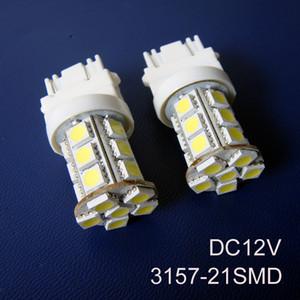 جودة عالية، 12V أضواء الفرامل 3157 سيارة، 3157 إشارات المرور، 3157 المصابيح الخلفية السيارات، T25 لمبات السيارات، 3157 وأدى ضوء، وحرية الملاحة 50PC / الكثير