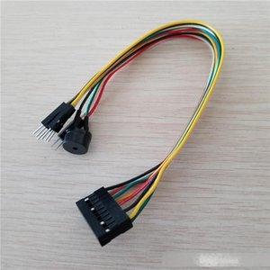 Интеграция хоста Speaker / Reset переключатель питания / HDD LED Jumper Line Плоский кабель Заменить Q-разъем для MAINBOARD PC DIY