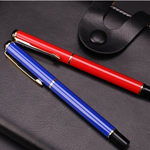 High quality luxury metal ball pen black ink gel pen stationery business office signature pen supplies gifts
