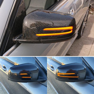 Superb Side Wing LED Dynamic Turn Signal Blinker Mirror Flasher Light For W176 W246 W212 W204 C117 X156 X204 W221