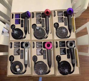 최고의 품질과 저렴한 가격 헤어 드라이어 전문 살롱 도구 강한 바람과 빠른 건조 전기 헤어 드라이어 5 속도 바람 다섯 색상