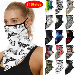 2020 Hot Sell Lightweight Magic Headscarf For Woman Sun Protection Headscarf Outdoor Riding Protective Silk Scarf Handkerchief