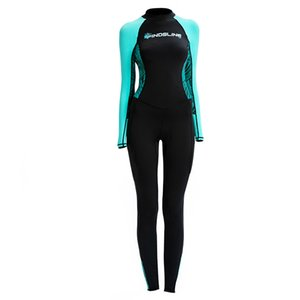 Lady One Piece Rash Guard, Full Body Cover Thin Wetsuit, Lycra UV Protection Skin Suit Perfect For Swimming Surfing and Diving