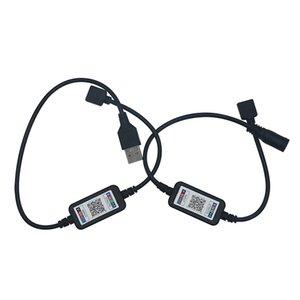 Cgjxs Edison2011 Usb Led Şerit Bluetooth 5 -24V Tira Led RGB Bant Esnek Şerit Ambilight Tv Işık Arka Işık İçin Bilgisayar Önyargı Aydınlatma