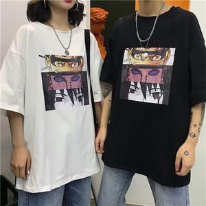 New Summer Anime shirt man's T-shirt Casual harajuku t shirt men Fashion Loose oversized T-shirt naruto graphic 0924